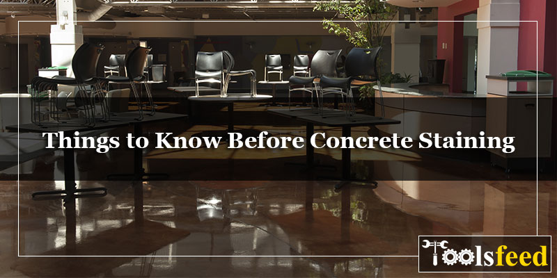 Things to Know Before Concrete Staining